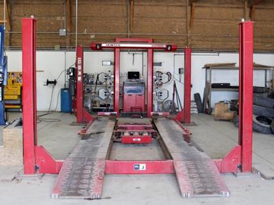 Vehicle Alignment Near Me >> Hunter Wheel Alignment Morris Tire Alignment